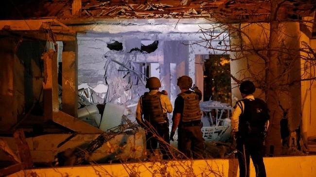 Pertempuran terbaru antara Israel dan Hamas dipicu oleh operasi intelijen yang gagal pada Minggu pekan lalu. (REUTERS/ Amir Cohen)