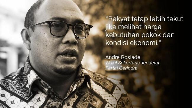 Andre Rosiade, Wakil Sekretaris Jenderal Partai Gerindra.