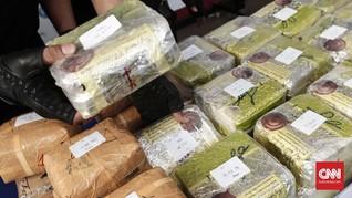 Polri Tangkap 14 Anggota Jaringan Sabu 137 Gram dari Malaysia