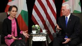 Wapres AS Cecar Suu Kyi soal Rohingya