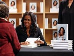 Michelle Obama 'Becoming' Jadi Buku Terlaris di 2018