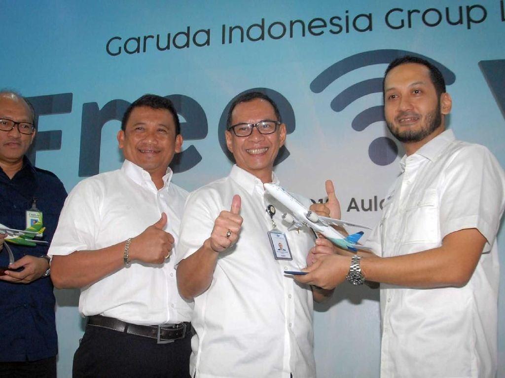 Jasa layanan free WiFi tersebut sudah dapat dinikmati di sejumlah pesawat Airbus 320 milik maskapai Citilink rute domestik terhitung 28 Desember 2018. Sedangkan bagi penumpang maskapai Garuda Indonesia, fasilitas tersebut akan bisa dinikmati sekitar 6-8 bulan ke depan. Istimewa.