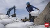 Di wilayah Jakarta Utara terdapat dua kecamatan langganan banjir yaitu Kecamatan Penjaringan dan Cilincing. (CNN Indonesia/ Hesti Rika)