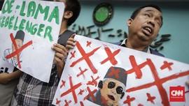 Warga Tunanetra Demo di MUI Tagih Maaf Ma'ruf soal Buta-Budek