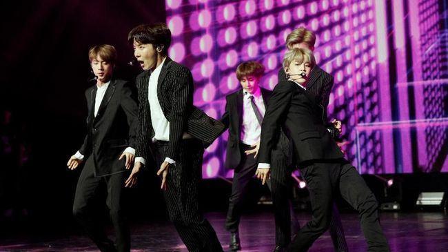 BTS Bakal Duduk Dikelilingi Wanita di Grammy Awards 2019