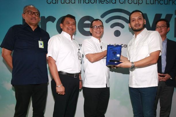 Fasilitas Free WiFi Hadir di Pesawat Garuda dan Citilink