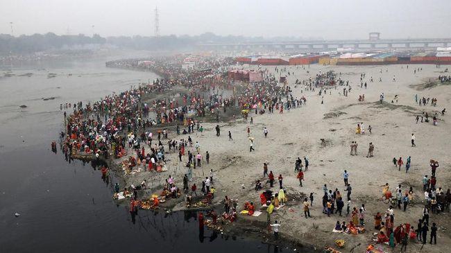 Jumlah Penduduk India Bakal Salip China pada 2050