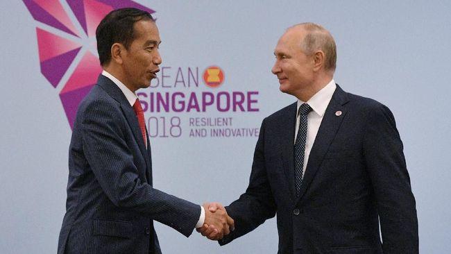 Jokowi Minta Putin Dukung Kampanye Positif Minyak Sawit