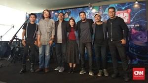 Payung Teduh Pakai Vokal Wanita untuk 'Wreck It Ralph 2'