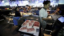 FOTO: Restoran China Pakai Robot dan Kecerdasan Buatan