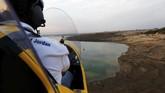 Kawasan Laut Mati di Yordania memiliki panorama yang sangat indah. Salah satu cara untuk menikmatinya ialah dengan menumpang helikopter kecil atau gyrocopter.