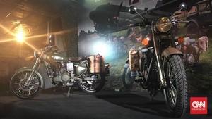 Motor 'Perang' Royal Enfield Mendarat di Jakarta