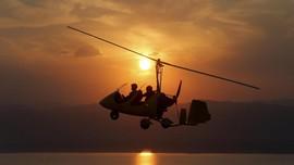 FOTO: Memandangi Laut Mati dari Gyrocopter