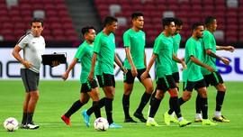 Gelar Latihan Perdana, Timnas Indonesia Siap Lawan Thailand