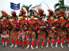Hadiri KTT APEC, Presiden China Disambut Mewah Papua Nugini