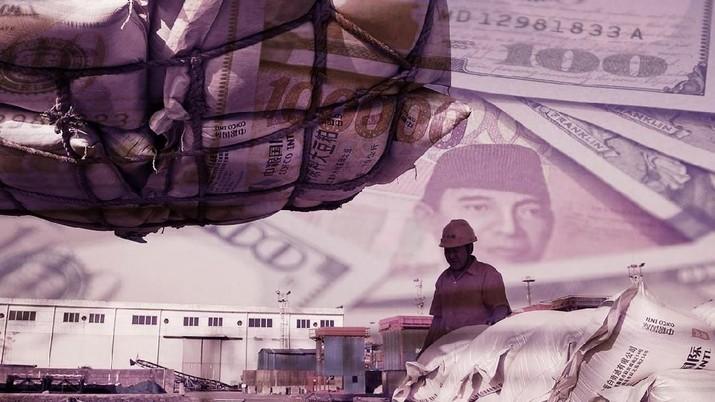 Tekor US$ 860 Juta, Awal Tahun Kurang Baik Neraca Dagang RI