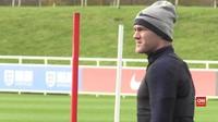 VIDEO: Latihan Terakhir Rooney Bersama The Three Lions