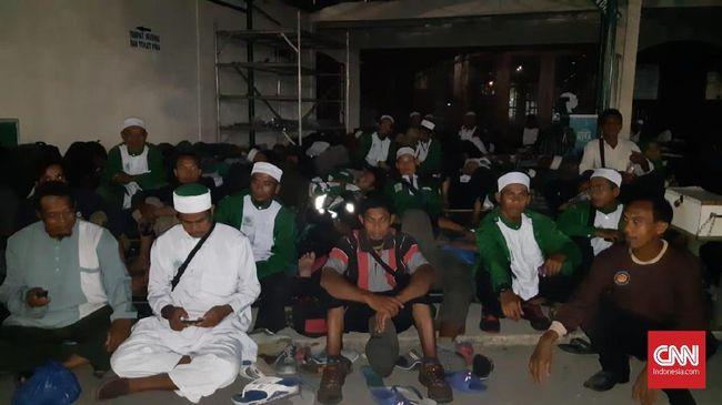 Dikawal Polisi, Peserta Syiar Khilafah Menginap di Masjid PRJ