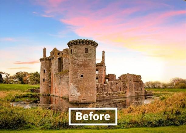 Dibangun Ulang, Kastil Horor Ini Jadi Mirip Istana Raja