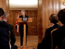 Berpotensi Dicopot, Theresa May Optimistis Brexit Terlaksana
