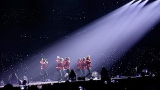 Seoul Bersemburat Ungu Sambut BTS