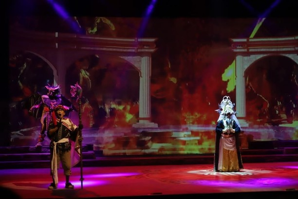 Pementasan Mahabarata: Asmara Raja Dewa