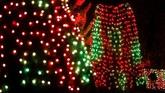 Ada lebih dari 1,5 juta lampu yangdipasang untuk memeriahkan acara tahunan ini.