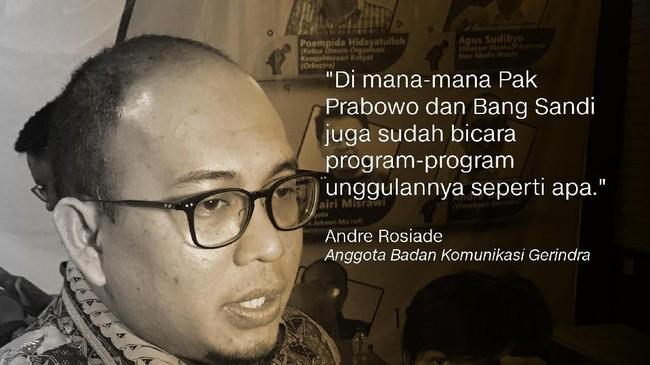 Andre Rosiade, Politikus Gerindra.