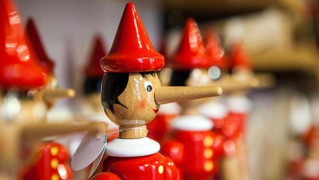 Kebalikan Pinokio, Saat Bohong Hidung Orang Akan Memendek