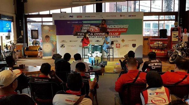 Toyota Owner Club Apresiasi Atlet Asian Para Games