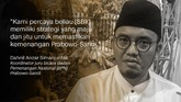 Dahnil Anzar Simanjuntak, Juru Bicara BPN Prabowo-Sandi.