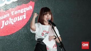 Grace Natalie Ajak 'Mama-mama Rempong' Pilih Jokowi