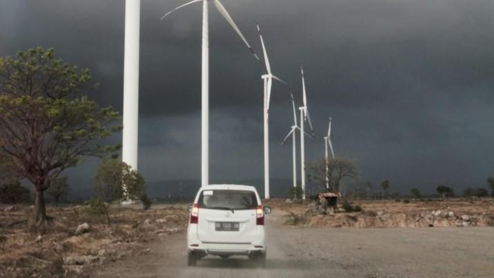 Pembangkit Listrik Tenaga Bayu (PLTB) di Jeneponto, Sulawesi Selatan (Ist Kementrian ESDM)