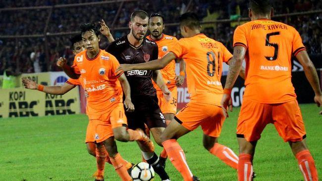 Klasemen Liga 1 2018: Persija Dekati PSM