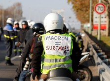 Protes Harga BBM di Perancis Makan Korban Jiwa