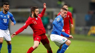 Italia dan Portugal Imbang Tanpa Gol di UEFA Nations League