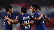 Piala AFF 2018: Filipina vs Thailand Imbang di Babak Pertama