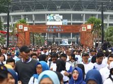 25 Ribu Orang Padati Senayan Rayakan Hari Listrik Nasional