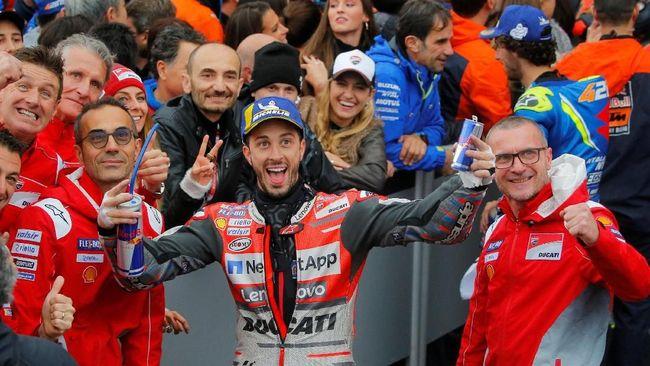 Pebalap Sebut MotoGP Valencia 2018 Merupakan Balapan Gila