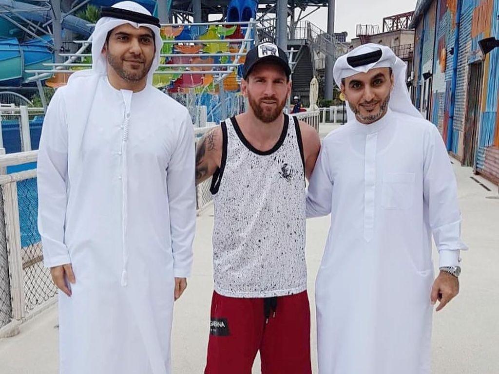 Libur Liga Spanyol, Messi Liburan ke Dubai
