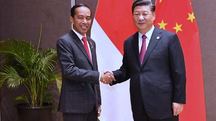 Jinping menyampaikan rasa prihatin atas wabah Covid-19 yang juga melanda Indonesia.