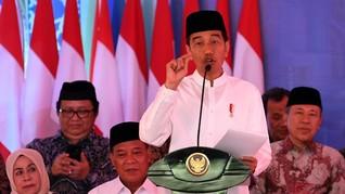 Jokowi Siapkan Data Hukum dan HAM untuk Debat Capres 2019