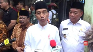 VIDEO: Jokowi Tegaskan Tak Bisa Intervensi Kasus Baiq Nuril