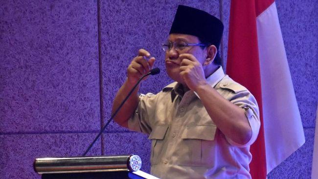 Prabowo Belum Mau Tanggapi Capaian Pemerintah Kuasai Freeport