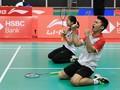 Leo/Indah Juara Badminton Asia Junior 2019