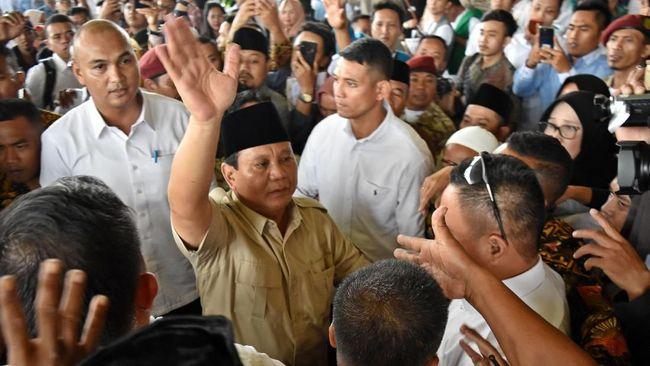 Safari Politik ke Pesantren, Prabowo Berharap Didukung Santri