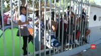 VIDEO: Warga Meksiko Demo Imigran Amerika Tengah