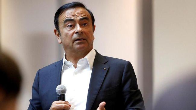 Carlos Ghosn Resmi Angkat Kaki dari Renault