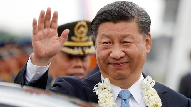 Berebut Pengaruh, Xi Jinping Perdana Datangi Filipina