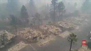 VIDEO: Setelah Kebakaran, California Hadapi Longsor